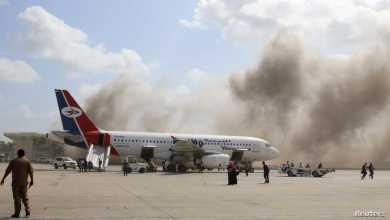 صورة مطار عدن.. وحيلة النار !!