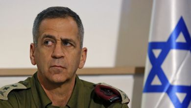 صورة رئيس الأركان الإسرائيلي ….لو أن في الأمتين رجالا!!!!