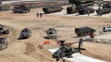 صورة القواعد الأمريكية في العراق والدول المجاورة لأيران