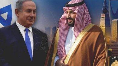 صورة الثنائي نتنياهو وإبن سلمان.. والرهان العبثي على جنون ترامب