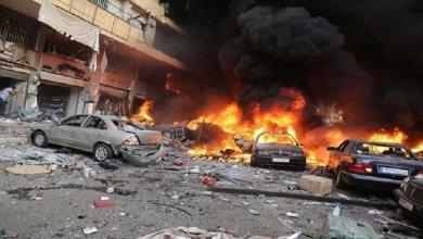 صورة تفجير ساحة الطيران في بغداد..إيران وراء ذلك.. !