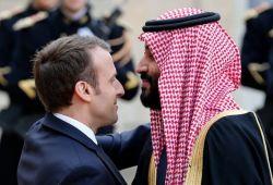 صورة إذا عُرف سبب الإنقلاب الفرنسي على إيران بطُل العجب.. ابن سلمان استبدل ترامب بماكرون بإغرائه بصفقات مليارية