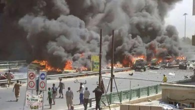 صورة تغييرات في واشنطن وتفجيرات في بغداد