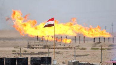صورة الانفاق وسعر برميل النفط في الموازنة