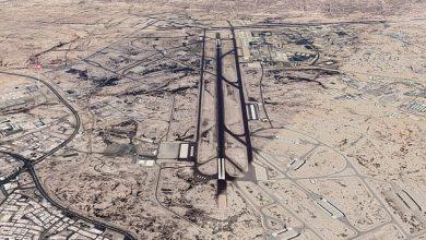صورة انصار الله يرسلون هدية باليستية لقاعدة الملك خالد الجوية ويسقطون طائرة تجسس سعودية في مدغل بمأرب.