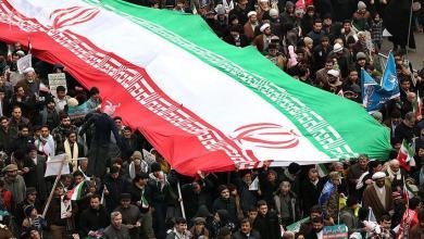 صورة الثورة الإسلامية الإيرانية؛ قوة، وعزة، وكرمة