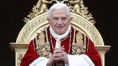 صورة رسالة من مواطن سوري إلى البابا بنديكتوس السادس عشر