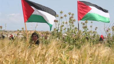 صورة قضية فلسطين للواجهة مجددا ، بعد ان عرضها العرب للبيع