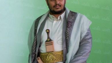 صورة السيد عبدالملك الحوثي: لا ننتظر إذن أحد للدفاع عن بلدنا وجاهزون للسلام المشرف