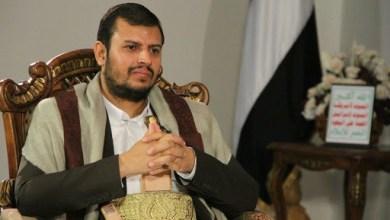 صورة القائد السيد عبدالملك بدرالدين الحوثي: التكفيريون نموذج مصنوع لتحقيق السيطرة الأمريكية