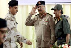"""صورة العراق يتعاون مع """"السعودية"""" لمواجهة الإرهاب.. لماذا يصافح الكاظمي الأيدي التي أزهقت ارواح عشرات آلاف العراقيين!"""