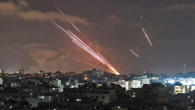 صورة صواريخ المقاومة تنسف  قطار التطبيع العربي