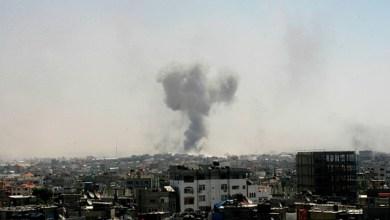 صورة غزة تخوض حرب الـ 48 من جديد… وتعيد الكيان الى ما قبل التأسيس…