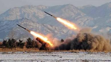 صورة صواريخ المقاومة و شرق أوسط أخر