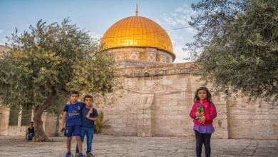 صورة القدس ساحة برهنت النصوص القرانية لمن لم يؤمن بركن وفرض العداء لليهود!