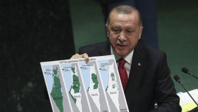 """صورة موقف أردوغان من غزة يوتّر العلاقات مع واشنطن.. و""""خبيرة إسرائيلية"""" تحذره"""