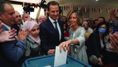 صورة انتخاب الرئيس بشار الاسد لولاية رابعة في ظل تأييد شعبي