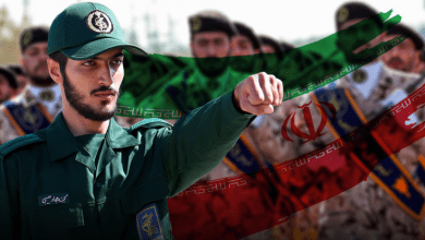 """صورة """"عظامها تصدعت""""… الحرس الثوري الإيراني يكشف نقطة بداية انهيار إسرائيل"""