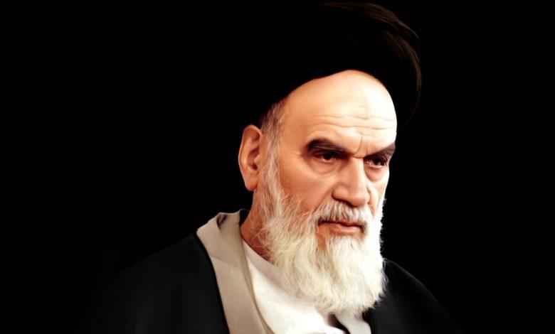 صورة في الذكرى السنوية 32 لرحيل الإمام الخميني (قده)