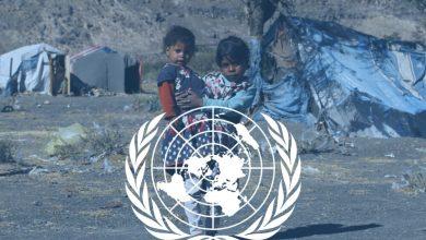 صورة أرجوحة الأمم المتحدة ولعبة السلام