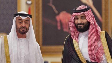 صورة فضح محمد بن سلمان ومحمد بن زايد.. وسم أمراء التجسس يتصدر الترند في دول الخليج.