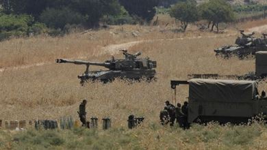 """صورة حزب الله """"يختبر إسرائيل"""" وحتى الآن ينجح."""