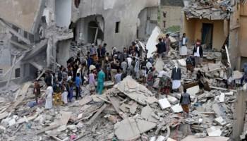 صورة جرائم تحالف العدوان السعودي بقتل وضرب الأطفال في اليمن  مجلة تحليلات العصر الدولية