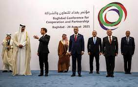 صورة من حصد النتائج في مؤتمر بغداد