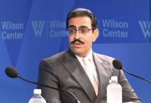 """صورة السفير البحريني لدى الولايات المتحدة يصف العلاقات مع إسرائيل بأنها """"أهم اختراق"""""""