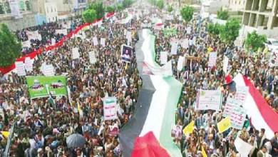 صورة اليمنييون وبالحشود التاريخية..يحيون ثورة ال 21 السبتمبرية!!