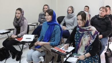 صورة طلاب أميركيون يدرسون في جامعات طهران!