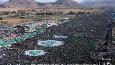 صورة بذكرى مولد الرسول حشود مليونية إستثنائية لليمنييون ..الرسائل والأبعاد والمضامين!!