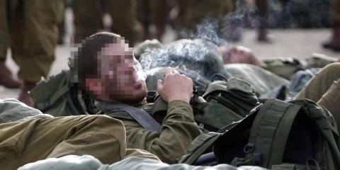 نظرة حول انتشار الحشيش بجيش الاحتلال