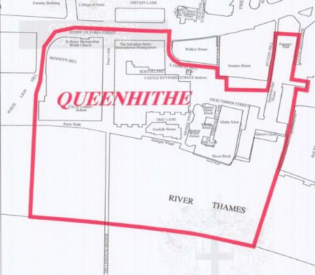 Queenhithe Map