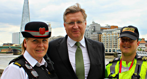With Ros, our wonderful PCSO