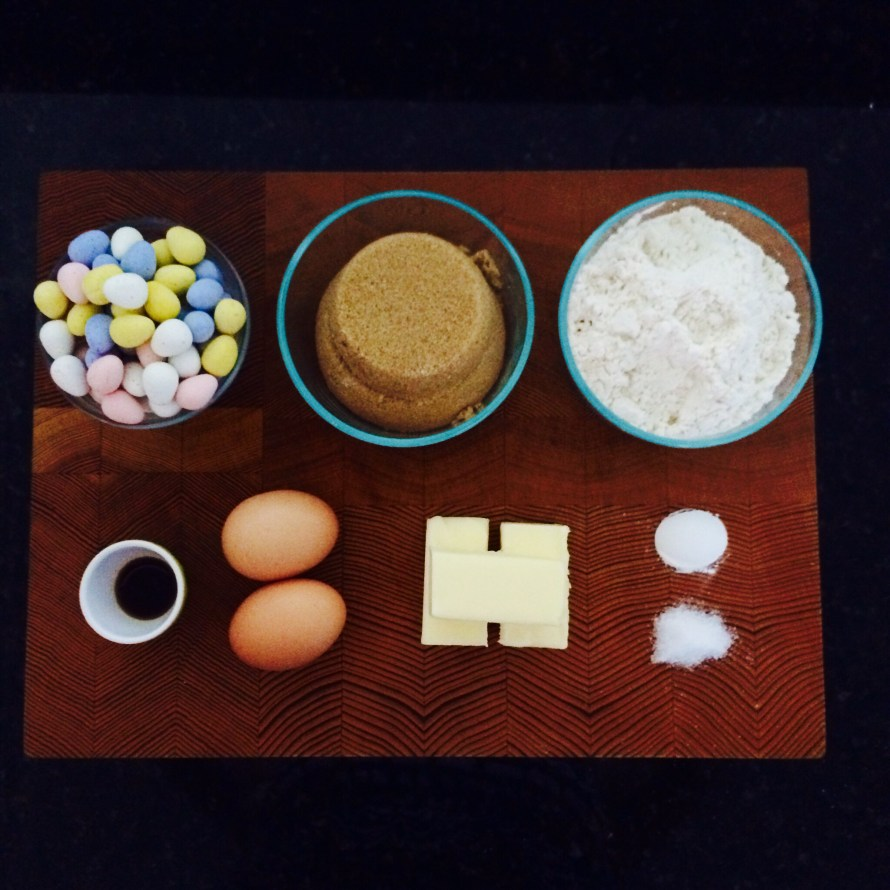 Brown Butter Blondie Ingredients