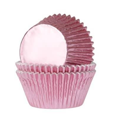 mini metallic roze