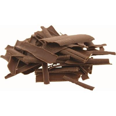 chocoladeschilfers van melkchocolade