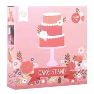 roze taartplateau