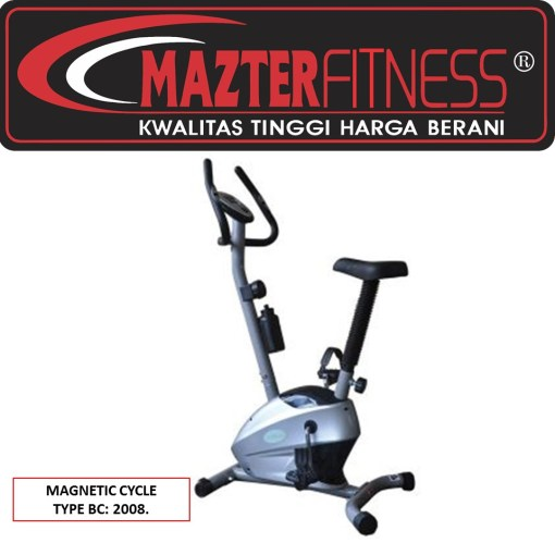 Sepeda-Statis-Magnetic-Cycle-BC-2008-mazter-fitness