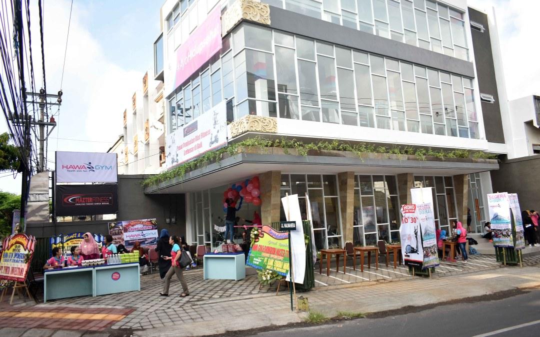 Resmi Dibuka Hawa Gym & Mazter Fitness Cabang Diponegoro