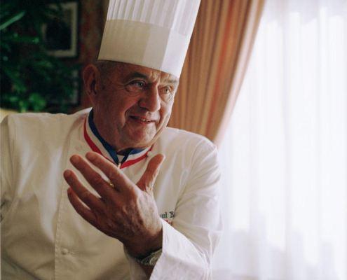 Paul Bocuse, exemple de propriété intellectuelle au service de la cuisine. Crédits Wikipédia Commons