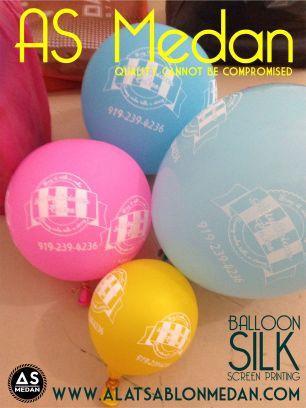 balon, sablon balon, balon medan