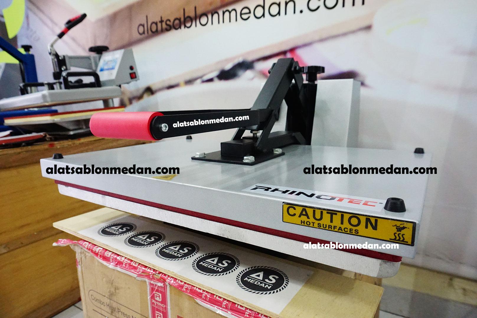 Mesin Sablon Digital Murah Dan Terlengkap As Medan Press Pin Rhinotec Kaos 40x60 1400w