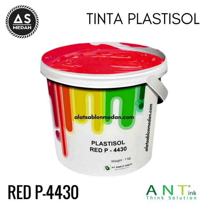Tinta Sablon Kaos Ant ink Plastisol Red