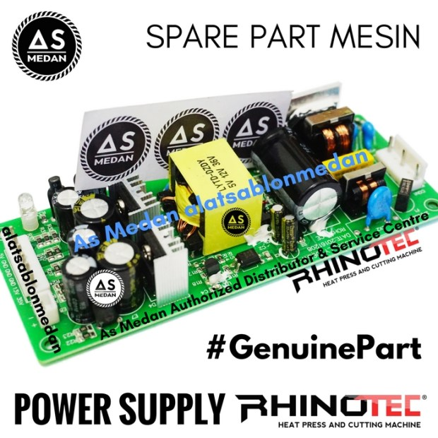 Power Supply Spare Part Mesin Cutting Sticker Rhinotec