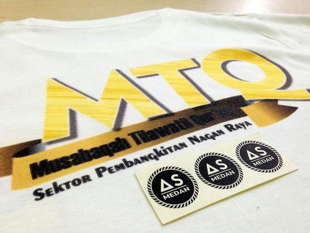 Printing kaos sablon dtg