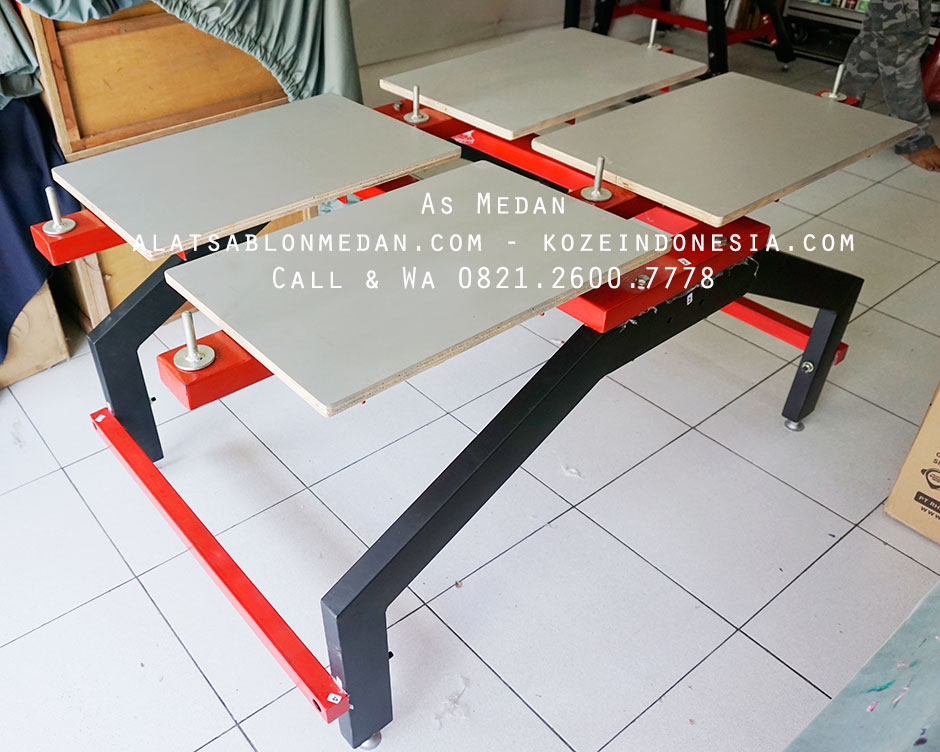 Meja Sablon Thailand Untuk Sablon Kaos