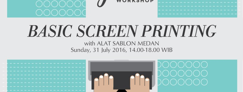 BASIC SCREEN PRINTING WITH ALAT SABLON MEDAN