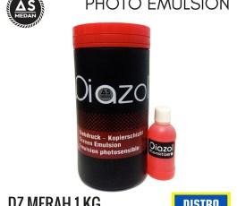 Obat Afdruk Sablon Diazol Merah Basis Minyak 1Kg